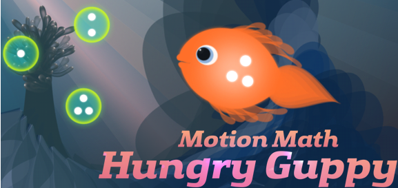 Motion Math Guppy App